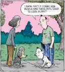 Cartoonist Dave Coverly  Speed Bump 2011-01-26 dog