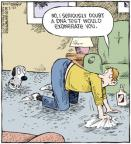 Cartoonist Dave Coverly  Speed Bump 2011-02-22 dog