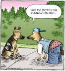 Cartoonist Dave Coverly  Speed Bump 2011-03-23 dog