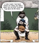 Cartoonist Dave Coverly  Speed Bump 2011-03-30 baseball