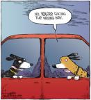 Cartoonist Dave Coverly  Speed Bump 2011-04-09 dog