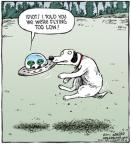 Cartoonist Dave Coverly  Speed Bump 2011-05-07 dog