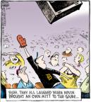 Cartoonist Dave Coverly  Speed Bump 2011-05-21 baseball