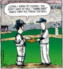 Cartoonist Dave Coverly  Speed Bump 2011-07-06 baseball