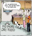 Cartoonist Dave Coverly  Speed Bump 2011-07-26 dog food