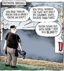 Cartoonist Dave Coverly  Speed Bump 2011-07-27 baseball game