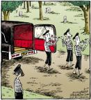 Cartoonist Dave Coverly  Speed Bump 2011-08-10 casket