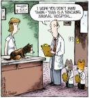 Cartoonist Dave Coverly  Speed Bump 2011-08-22 animal hospital