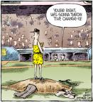 Cartoonist Dave Coverly  Speed Bump 2011-10-17 baseball