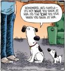 Cartoonist Dave Coverly  Speed Bump 2011-11-05 dog