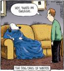 Cartoonist Dave Coverly  Speed Bump 2011-12-14 dog