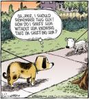 Cartoonist Dave Coverly  Speed Bump 2012-02-23 dog