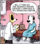 Cartoonist Dave Coverly  Speed Bump 2012-03-01 dog
