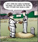 Cartoonist Dave Coverly  Speed Bump 2012-04-25 baseball