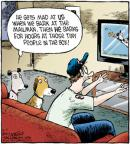 Cartoonist Dave Coverly  Speed Bump 2012-05-07 baseball