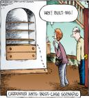 Cartoonist Dave Coverly  Speed Bump 2012-06-07 wood