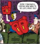 Cartoonist Dave Coverly  Speed Bump 2012-06-20 sporting event