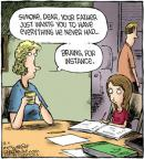 Cartoonist Dave Coverly  Speed Bump 2012-08-04 education