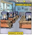 Cartoonist Dave Coverly  Speed Bump 2012-11-13 education