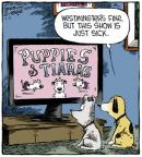 Cartoonist Dave Coverly  Speed Bump 2013-03-11 puppy dog