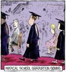 Cartoonist Dave Coverly  Speed Bump 2013-04-09 graduation