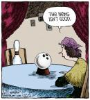 Cartoonist Dave Coverly  Speed Bump 2013-04-26 good news