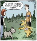 Cartoonist Dave Coverly  Speed Bump 2013-04-29 personality