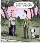 Cartoonist Dave Coverly  Speed Bump 2013-07-11 dog breed