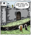 Cartoonist Dave Coverly  Speed Bump 2013-08-30 dog and cat