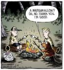 Cartoonist Dave Coverly  Speed Bump 2013-09-24 wood