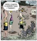 Cartoonist Dave Coverly  Speed Bump 2013-10-01 fence