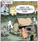 Cartoonist Dave Coverly  Speed Bump 2013-10-23 animal feed
