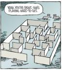 Cartoonist Dave Coverly  Speed Bump 2013-10-30 science