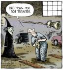 Cartoonist Dave Coverly  Speed Bump 2013-10-31 wood