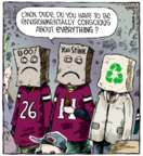 Cartoonist Dave Coverly  Speed Bump 2013-12-17 sporting event