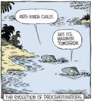 Cartoonist Dave Coverly  Speed Bump 2014-01-25 water temperature