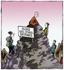 Cartoonist Dave Coverly  Speed Bump 2014-01-27 spirituality