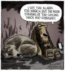 Cartoonist Dave Coverly  Speed Bump 2014-02-21 bear