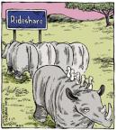 Cartoonist Dave Coverly  Speed Bump 2014-04-24 transportation