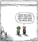 Cartoonist Dave Coverly  Speed Bump 2014-06-17 climate