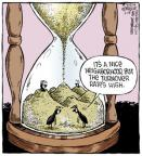 Cartoonist Dave Coverly  Speed Bump 2014-06-28 over the hill