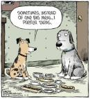 Cartoonist Dave Coverly  Speed Bump 2014-07-11 dog food
