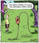 Cartoonist Dave Coverly  Speed Bump 2014-08-05 fence
