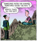 Cartoonist Dave Coverly  Speed Bump 2014-08-09 enlightenment