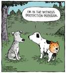 Cartoonist Dave Coverly  Speed Bump 2014-09-03 dog and cat