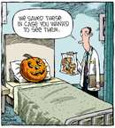 Cartoonist Dave Coverly  Speed Bump 2014-10-01 operation