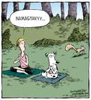 Cartoonist Dave Coverly  Speed Bump 2014-10-20 dog obedience