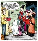 Cartoonist Dave Coverly  Speed Bump 2014-10-31 Christmas music