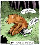 Cartoonist Dave Coverly  Speed Bump 2014-12-02 bear