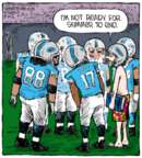 Cartoonist Dave Coverly  Speed Bump 2015-09-14 football